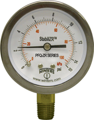PFQ-ZR StabiliZR Stainless Steel Gauge