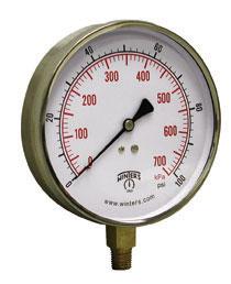 PCT Contractor Pressure Gauge