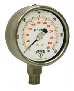 PFP Premium Stainless Steel Liquid Filled Pressure Gauge